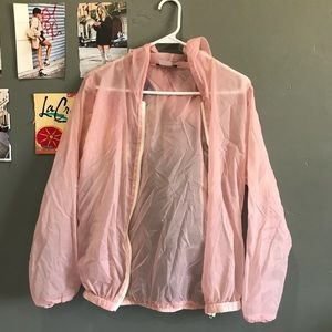 Brandy See Through pink jacket